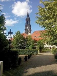 Impression in Dresden Neustadt